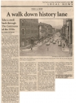 A walk down history lane- a photo that looks pretty much like 1961 except for the cars: Ithaca Journal.