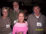 Fall Creek Reunion - Sharon Townley, John David, Judy Patten Poss, David Solomon