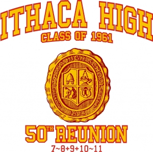 IHS Class of 1961 50th Reunion Logo
